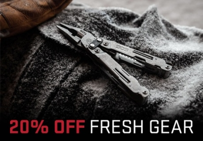 20% of SOG Gear